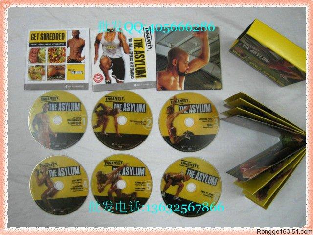ดีวีดีออกกำลังกายรีดไขมัน INSANITY THE ASYLUM VOLUME 1- 30 Day_ 6 DVDs Boxset