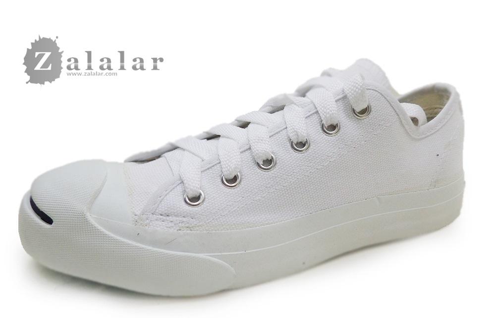 [พร้อมส่ง]รองเท้าผ้าใบแฟชั่น LEO JACK สีขาว