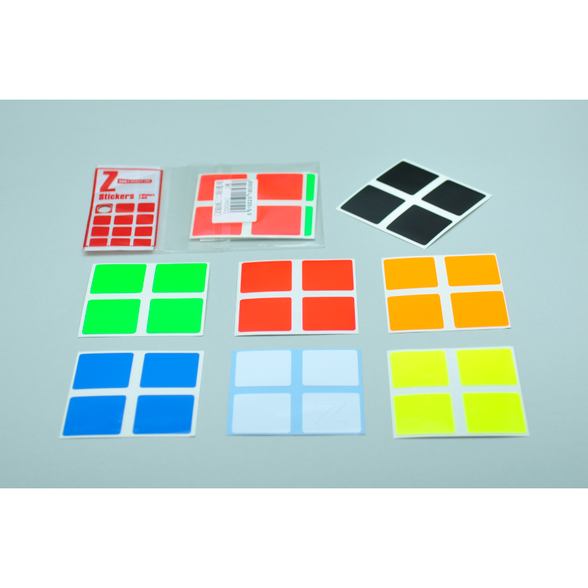 Z-Stickers Z-Bright for 2x2x2 [ZSV288]