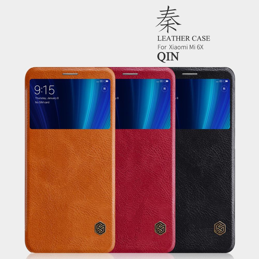 เคส Xiaomi Mi A2 / Mi 6X NILLKIN Qin Leather Case