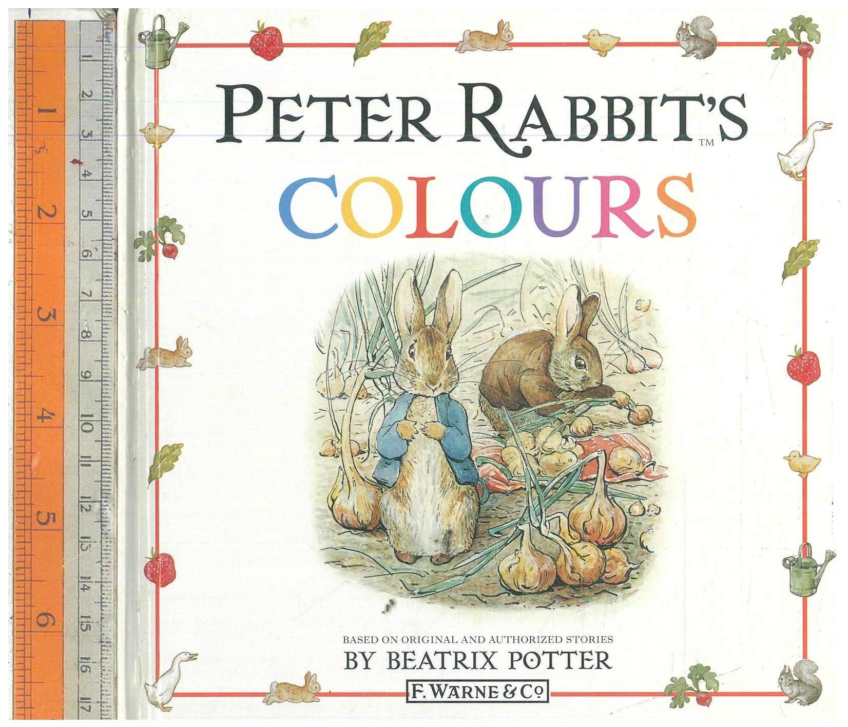 Peter Rabbit's colours
