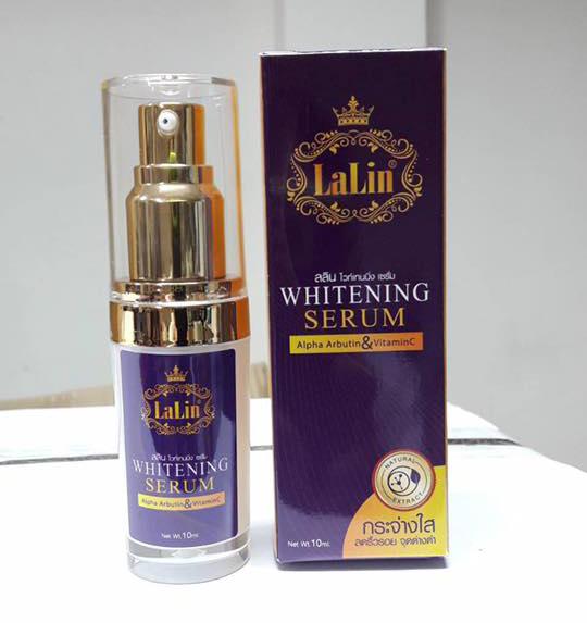 ลลิน ไวท์เทนนิ่ง เซรั่ม Lalin Whitening Serum