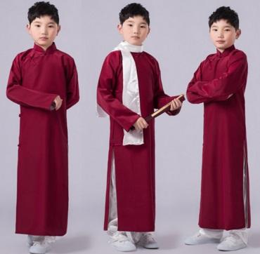 Pre-order ชุดอาเซียน / แพ็คละ 5 ตัว / สีแดงเลือดหมู