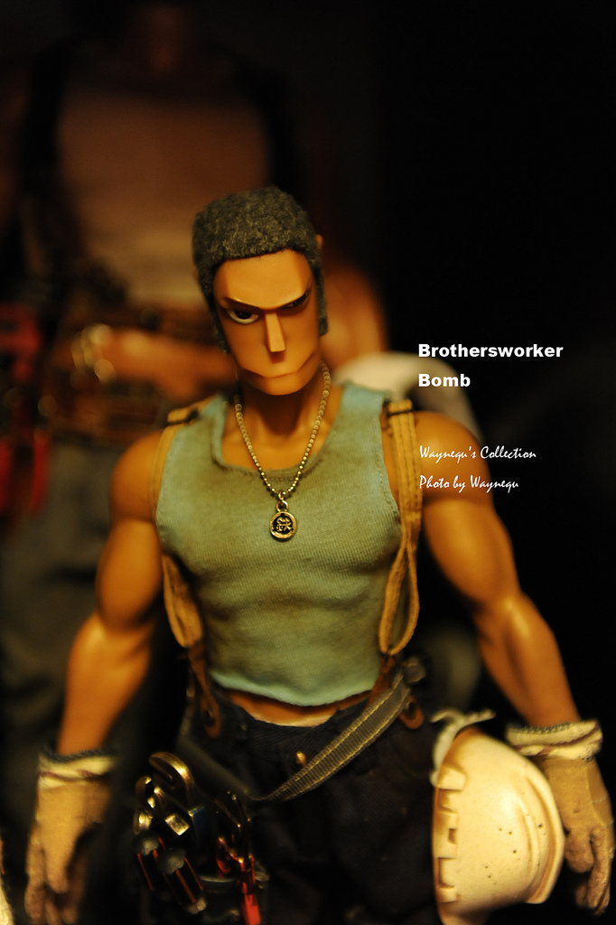 Hot toys brothersworker - Bomb