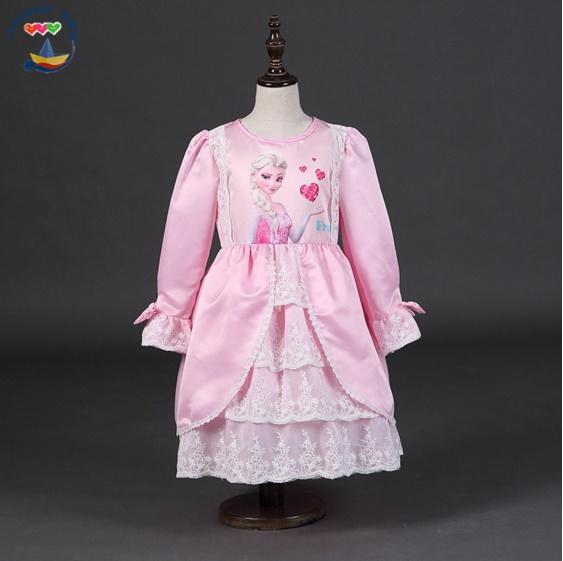 Pre-order ชุดเอลซ่า / Size 140 / Pink