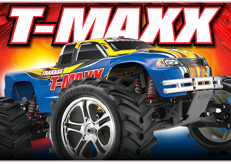 T-Maxx 2.5 4WD Monster Truck # 4910