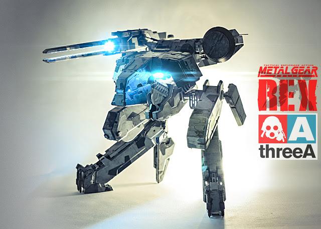 ThreeA Metal Gear Solid Rex (retail)
