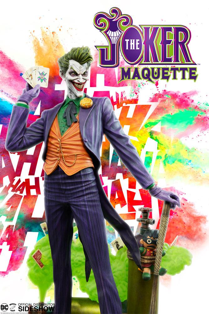 SIDESHOW The Joker Maquette by Tweeterhead