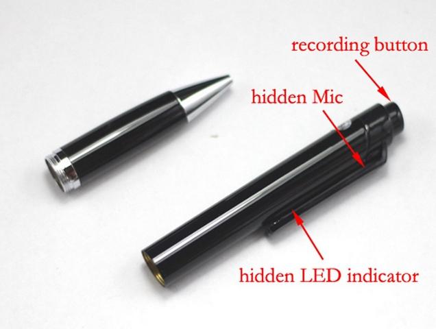 ปากกาบันทึกเสียง one-click record (8gb)