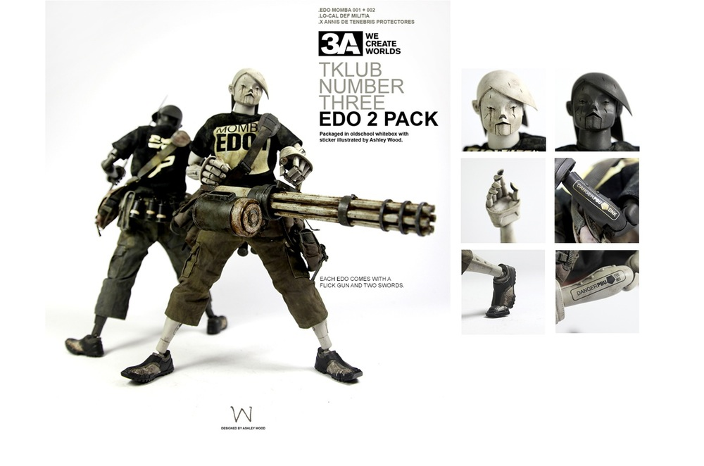 ThreeA Tomorrow King - TKLUB 3a EDO Two pack