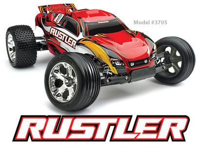 Rustler 2WD Stadium Truck (Waterproof-Electronics) #3705