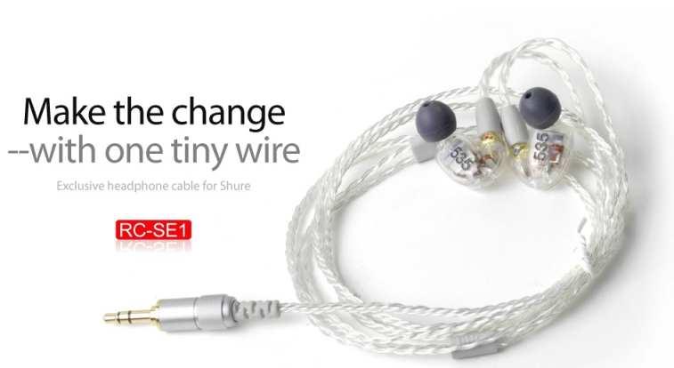 ขาย สาย FiiO RC-SE1 สายแบบถักสำหรับเปลี่ยนหูฟัง UE900 /Shure SE215/SE315/SE425/SE535 คุณภาพดีเยี่ยมในราคาเบาๆ