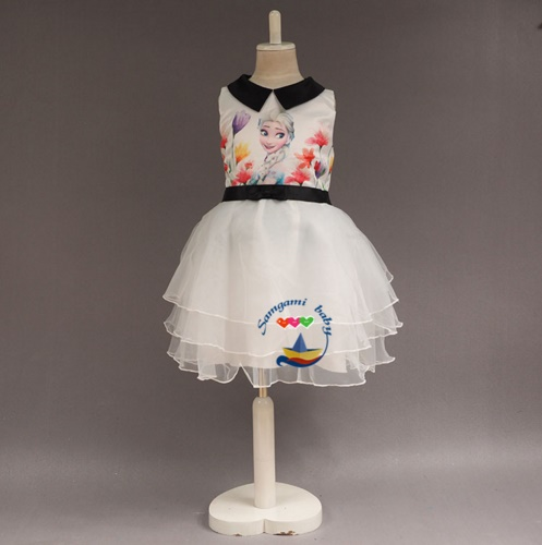 Pre-order ชุดเอลซ่า/ Size 110 / White