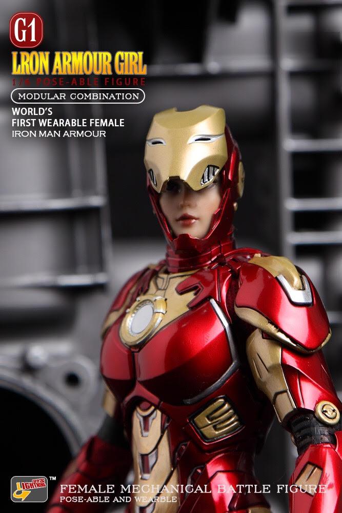 Lightning Toys IT001 Lron Armour Girl