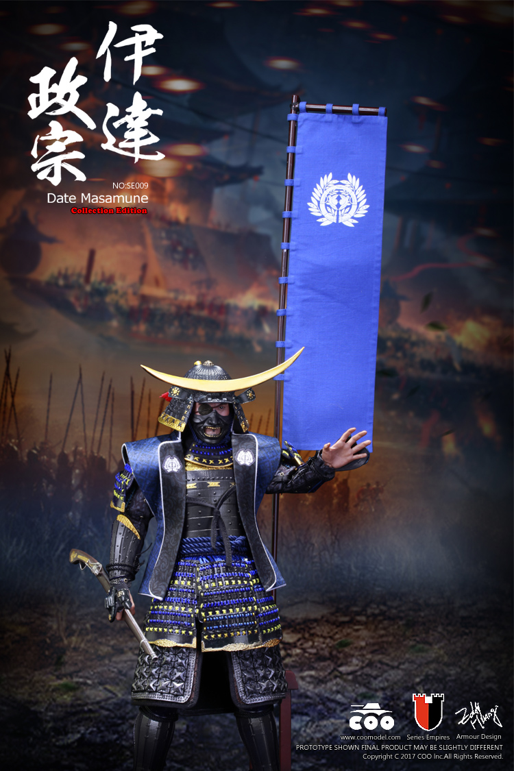 COOMODEL SE009 SERIES OF EMPIRES: JAPAN'S WARRING STATES - DATE MASAMUNE (DELUXE EDITION)