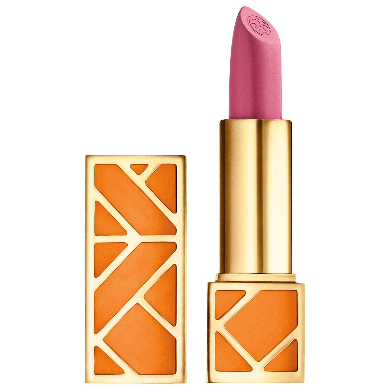 **พร้อมส่ง**Tory Burch Lip Color เบอร์ 08 Just Like Heaven โทนนุ้ดชมพู ลิปสติกแพคเกจสีส้มสุดเลิศหรู ที่ผู้หญิงต้องตกหลุมรัก เนื้อลิปสติกเป็นเนื้อเชียร์ ที่ให้เนื้อสัมผัสเข้มข้น แต่ให้ความรู้สึกบางเบา มีกลิ่นหอมอ่อนบางของกลิ่น Cassic, Grapefruit และ Madari