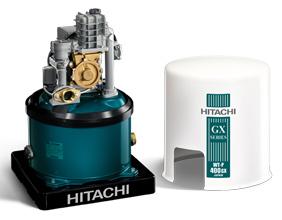 ปั๊มน้ำแบบโอโต(ถังกลม) Hitachi รุ่น WT-P250GX2