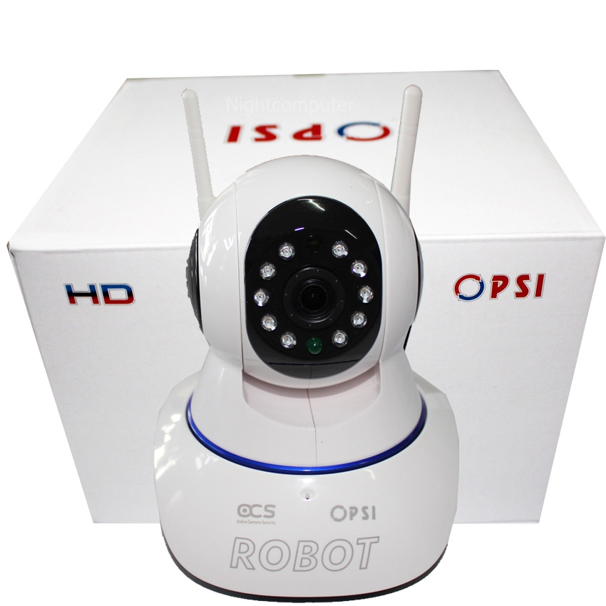 PSI ROBOT กล้อง WIFI IP CAMERA SECURITY HD รุ่น ROBOT (ไม่รวมเมมโมรี่ / ไม่รวมเซ็นเซอร์)