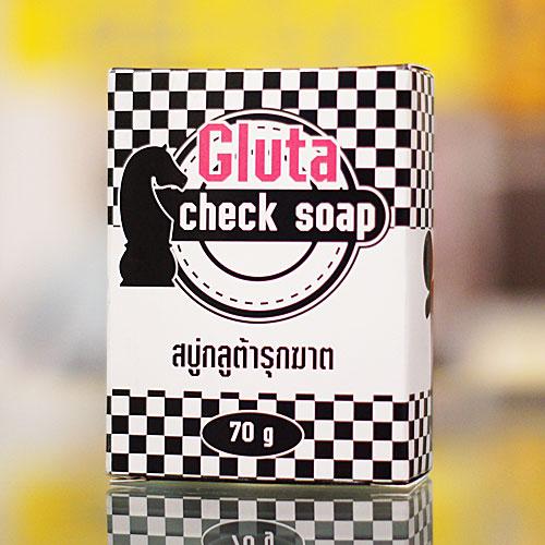 Gluta Check Soap สบู่กลูต้ารุกฆาต