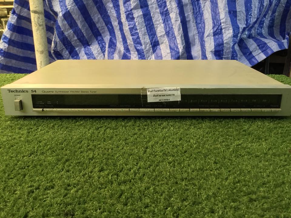 วิทยุ FM AM Technics ST-S4 สินค้าไม่พร้อมใช้งาน (ต้องซ่อม)
