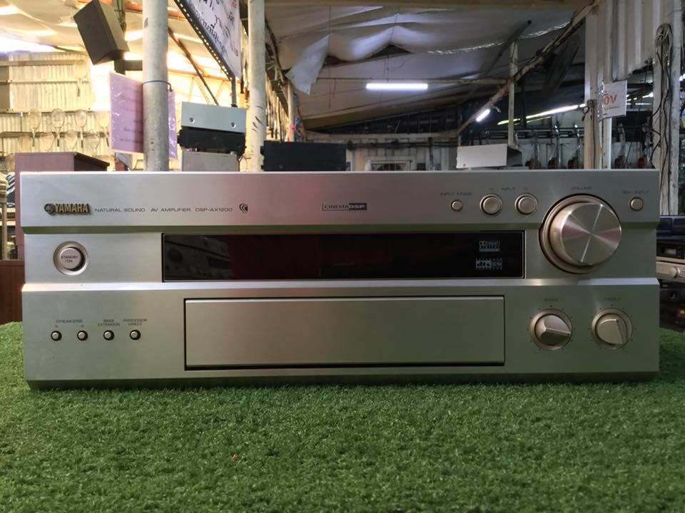 เครื่องขยายเสียง YAMAHA DSP-AX1200