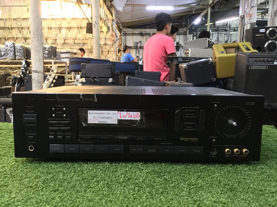 เครื่องขยายเสียง PIONEER VSA-550-K สินค้าไม่พร้อมใช้งาน (ต้องซ่อม)