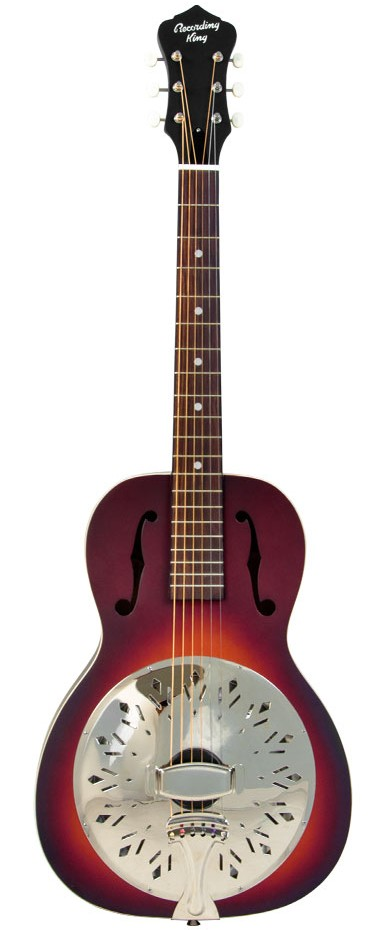 Recording King Acoustic Guitar RPH-R1 สีTobacco Sunburst