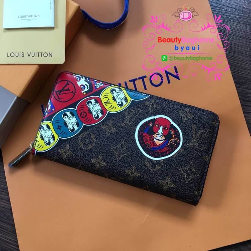 Louis vuitton Wallet Kabuki stickers งานHiend 1:1