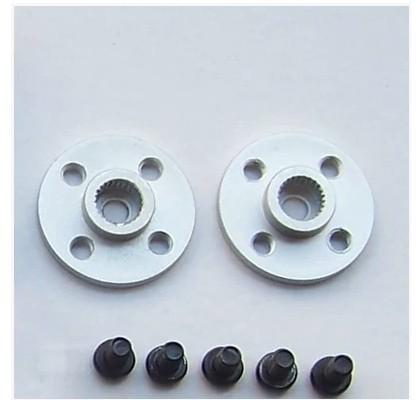 Small metal disc 25T (Universal standard for MG995, MG996)