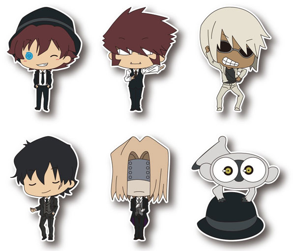 Blood Blockade Battlefront - TINY Rubber Strap 6Pack BOX(Released)