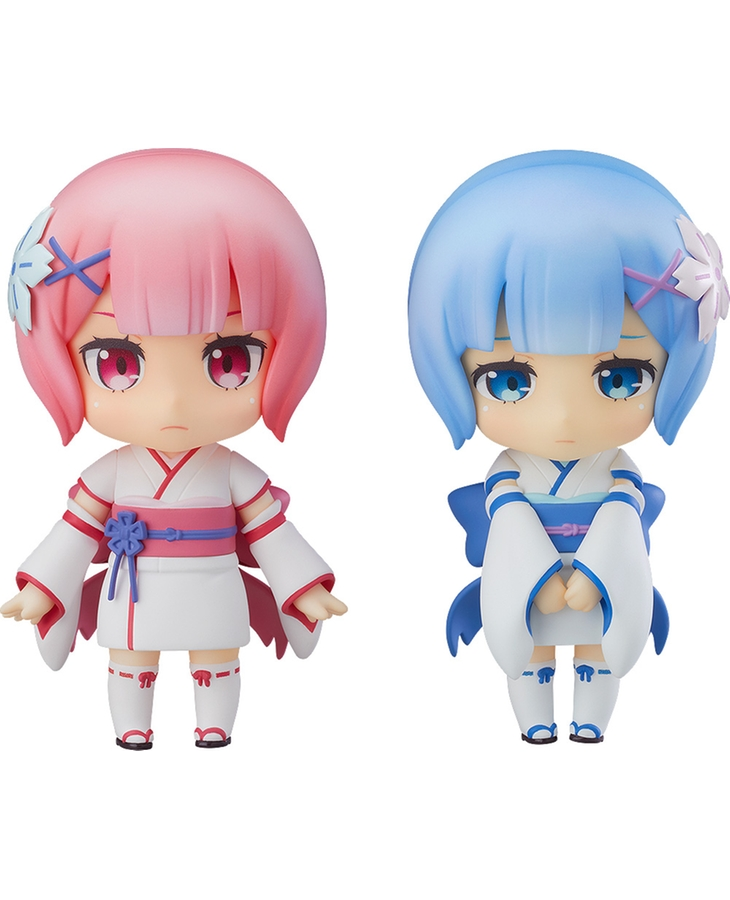 Nendoroid Re:ZERO -Starting Life in Another World-: Ram & Rem Childhood Ver.(Limited Pre-order)