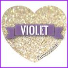 คอนแทคเลนส์สีม่วง บิ๊กอายสีม่วง Violet Purple Contact lens Bigeye Famouslens