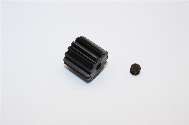 STEEL MOTOR PINION (14T) - 1PC