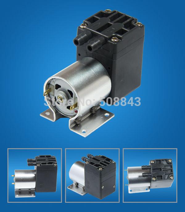 ปั๊มน้ำขนาดเล็ก ปั๊มลม vacuum pump DC 12V