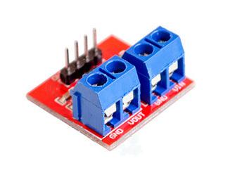 Voltage and Current Sensor โมดูลวัดโวล์และแรงดัน 3-25V 0-3A