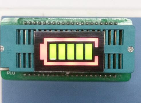 LED Battery Level Display