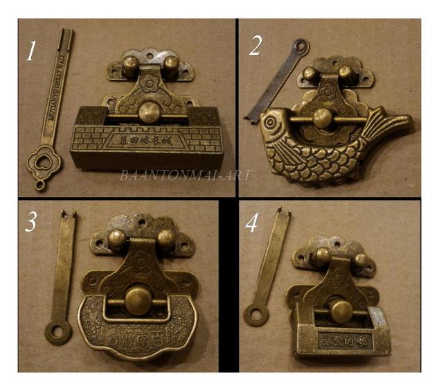 ชุดกุญแจจีน แบบโบราณ(2) เริ่มชุดละ