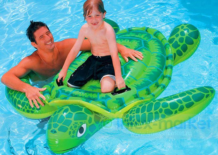 Product details of Intex แพยางเป่าลม Sea Turtle Ride On รุ่น In-56524