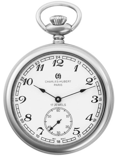 นาฬิกาพกพา Charles-Hubert รุ่น 3756WA, Mechanical American Style