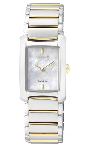 นาฬิกาข้อมือผู้หญิง Citizen Eco-Drive รุ่น EG2975-50D, Business Collection