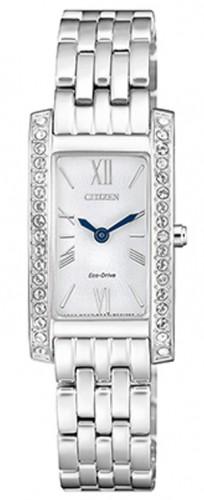 นาฬิกาผู้หญิง Citizen รุ่น EX1470-86A, Eco-Drive Silhouette Swarovski Crystal