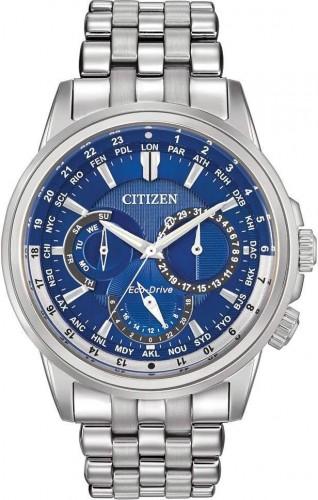 นาฬิกาข้อมือผู้ชาย Citizen Eco-Drive รุ่น BU2021-69L, Calendrier World Time 100M