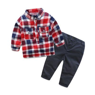 ID458- เสื้อ+กางเกง 5 ชุด /แพค ไซส์ 80-120