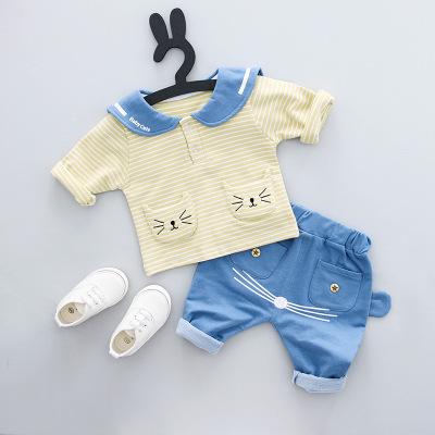 ZJ141 -เสื้อ+กางเกง 4 ตัว/แพค ไซส์ 70 80 90 100