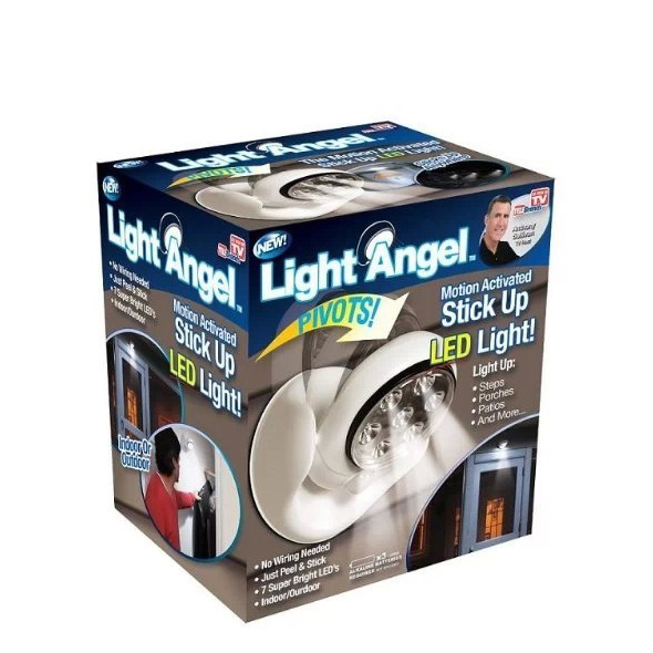 Light Angel หลอดไฟ LED ตรวจจับการเคลื่อนไหว