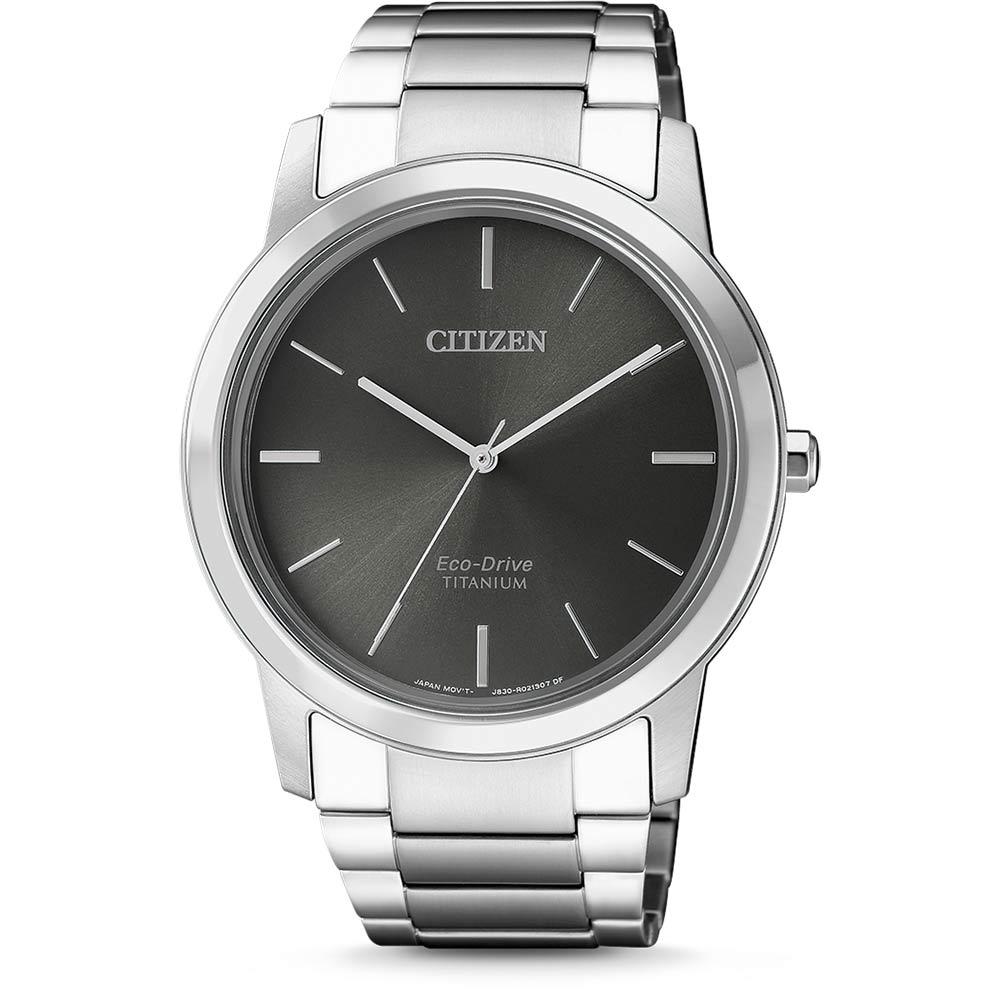 นาฬิกาผู้ชาย Citizen Eco-Drive รุ่น AW2020-82H, Super Titanium Sapphire Men's Watch