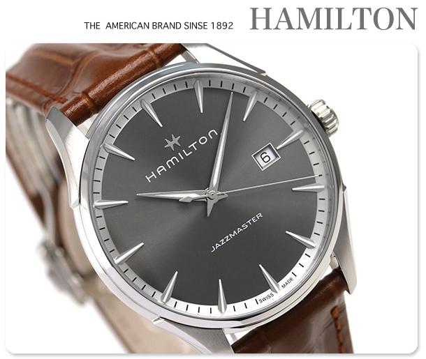 นาฬิกาผู้ชาย Hamilton รุ่น H32451581, Jazzmaster Quartz