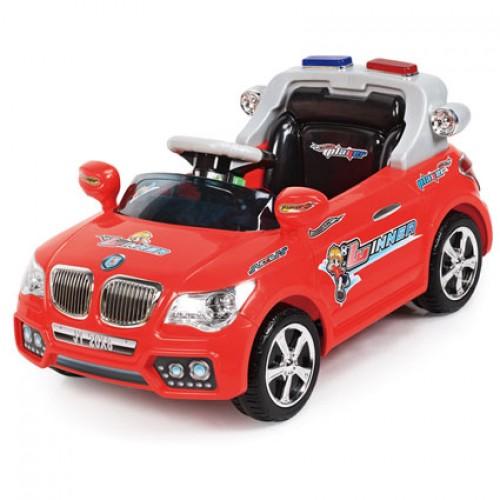 รถแบตเตอรี่เด็กขับ บีเอ็มตำรวจ Police LN20x8