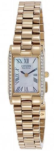 นาฬิกาผู้หญิง Citizen รุ่น EX1032-59D, Eco-Drive Silhouette Swarovski