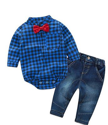 ID422-เสื้อ+กางเกง 4 ชุด /แพค ไซส์ 70-100
